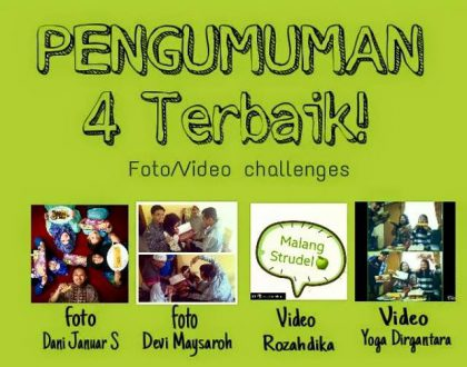 Voting Foto/ Video Challenge bersama Malang Strudel berlangsung seru!