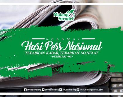 Hari Pers Nasional,  Malang Strudel Bagikan Parcel Untuk Rekan Media