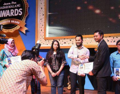 Malang Strudel Meraih Penghargaan Speciality Supermarket di Ajang Radar Malang Awards 2017