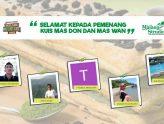 Pemenang Kuis Tebak Kata Siap Masdon Dana Maswan