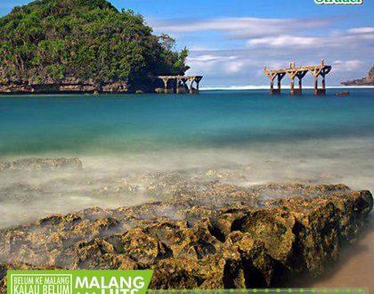 Pulau Anoman, Pulau Cantik Yang Tersembunyi di Pantai Balekambang