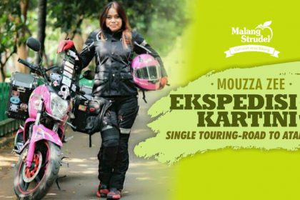 H-1 Mouzza Zee, Single Touring Lady Biker Asal Malang Trip To Atambua