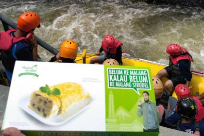 Malang Strudel Ada Di Event Gebyar Kasembon Rafting 2017