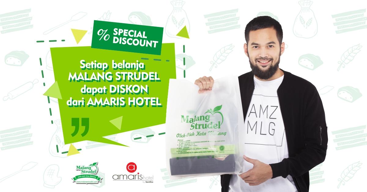 Belanja Malang Strudel Gratis Diskon Menginap di Hotel Amaris Malang!