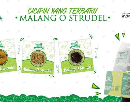 "Mau cicipin produk terbaru ""Malang O  Strudel"" yang dibawain langsung sama Teuku Wisnu????"