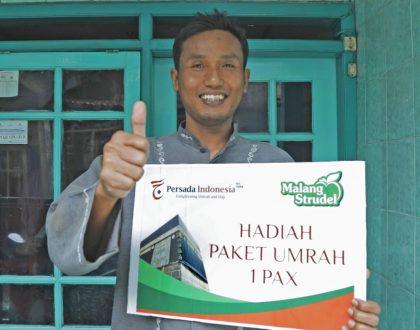 Dari 9.000 Kupon, Ahmad Syahbandi Berhasil Menang Umroh Gratis!