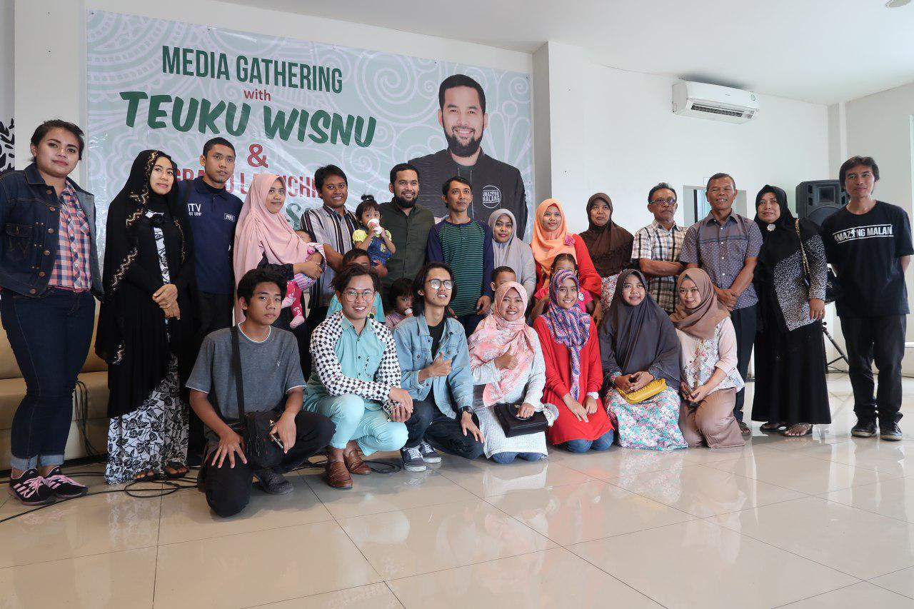 Media Gathering Malang Strudel With Teuku Wisnu Berlangsung Seru!