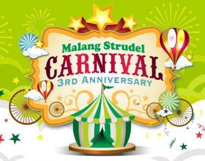 Semarak Malang Strudel Carnival 3! Banyak Acara, Banyak Hadiahnya!