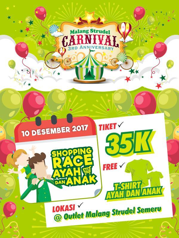 Shopping Race Ayah dan Anak PERTAMA di Malang Raya! Hadiah Jutaan Rupiah!
