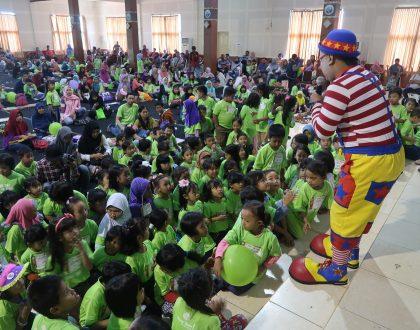 Antusias 300 Peserta Lomba Mewarna Malang Strudel Carnival 3 Beneran Pecah!!