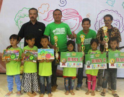 Adu Kreatifitas Mewarna! Inilah 12 Juara Lomba Mewarna Malang Strudel Carnival 3!