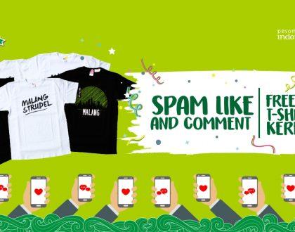 Cuma Like dan Comment di Instagram Bisa Dapet 5 Kaos Keren dari Teuku Wisnu!
