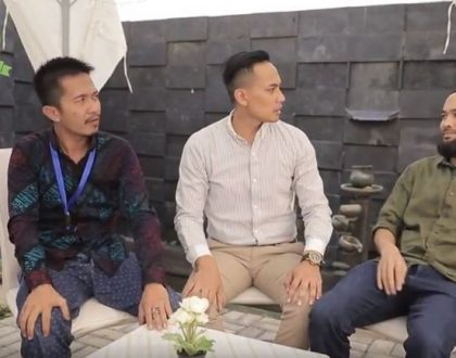 Teuku Wisnu dan Panji Syahputra Adu Akting di Film Pendek Malang Strudel