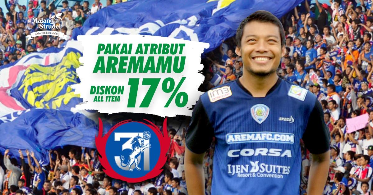 Ulang Tahun Arema, Malang Strudel Diskon 17%!