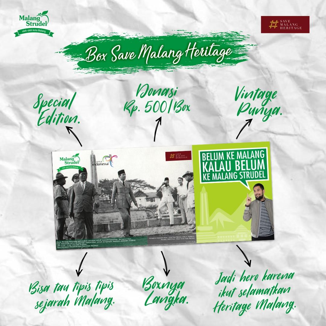 Ayo Jadi Penyelamat Heritage Malang Lewat Malang Strudel Edisi Khusus!