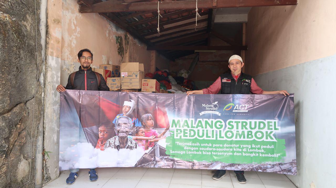 200 Koli Bantuan Untuk Lombok Terkumpul di Malang Strudel Siap Diberangkatkan!