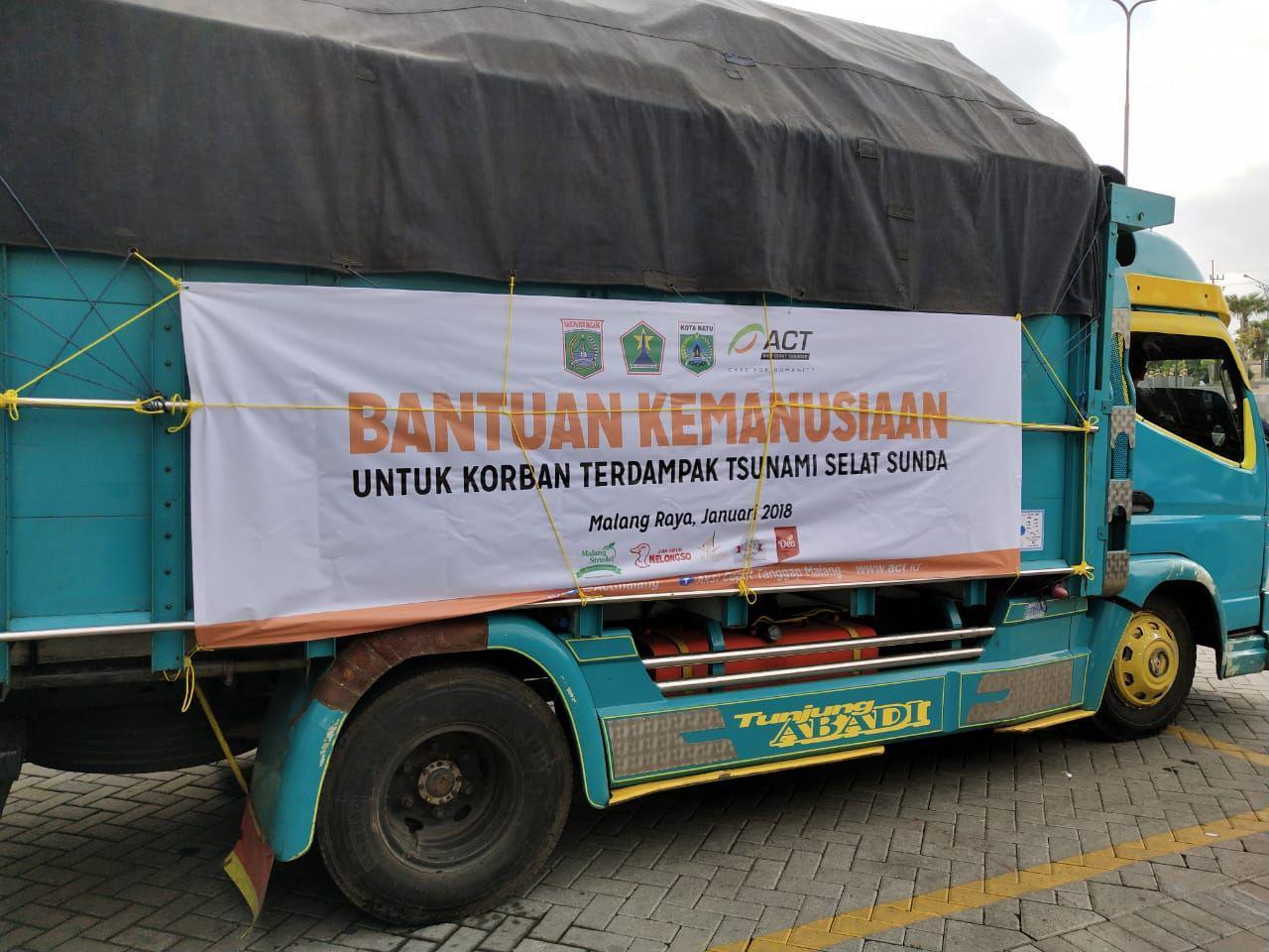 Aksi Cepat Tanggap dan Malang Strudel Kirim Bantuan untuk korban Tsunami Selat Sunda!