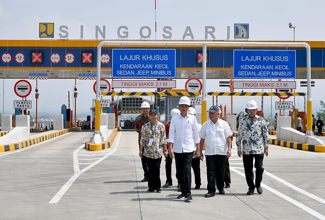 Malang-Surabaya 1 Jam, Tol Malang Pandaan Diresmikan Langsung Presiden Joko Widodo!