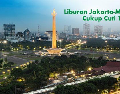 Liburan Jakarta-Malang, Cukup Cuti 1 Hari!