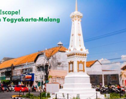 Sweet Escape! Liburan Yogyakarta-Malang 3 Hari!