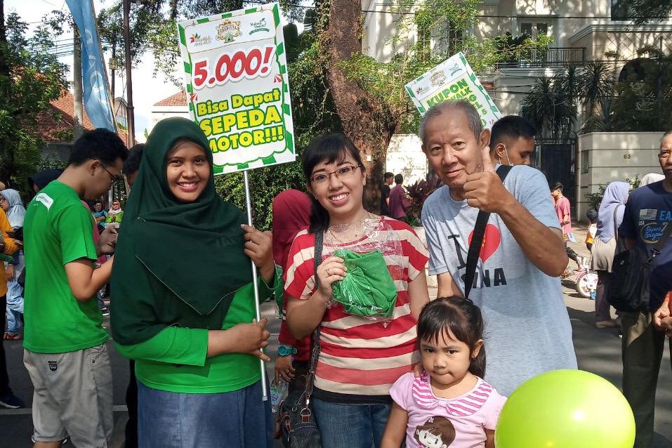 BELI KUPON FUNWALK + T-SHIRT MALANG STRUDEL CUMAN Rp 5.000! Mau?
